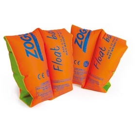 Zoggs Float Bands - Niños - verde/naranja